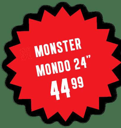 """Super Monster Mondo 24"""" 42.99"""