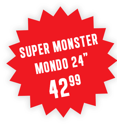"Super Monster Mondo 24"" 42.99"
