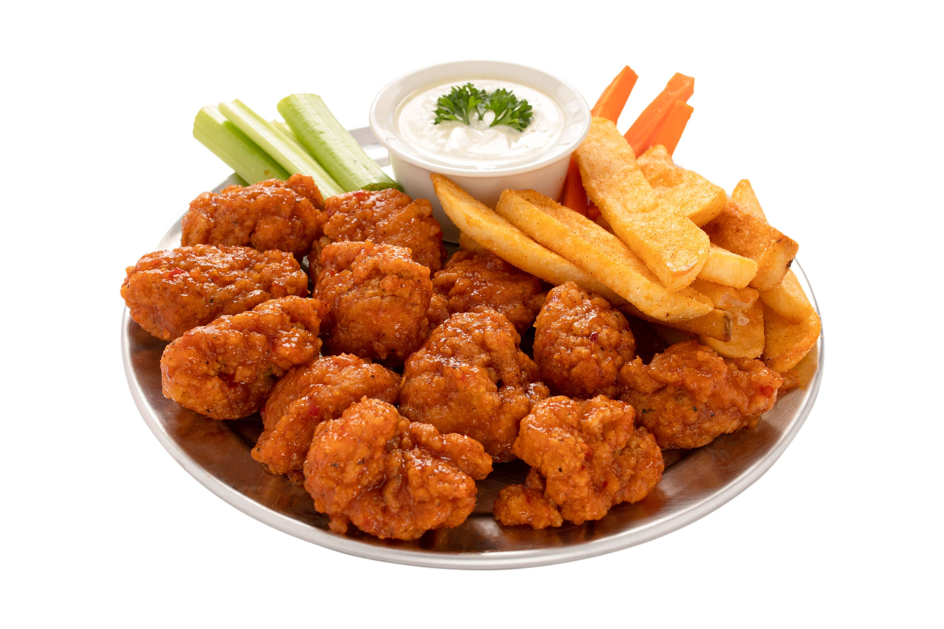 Large boneless wings